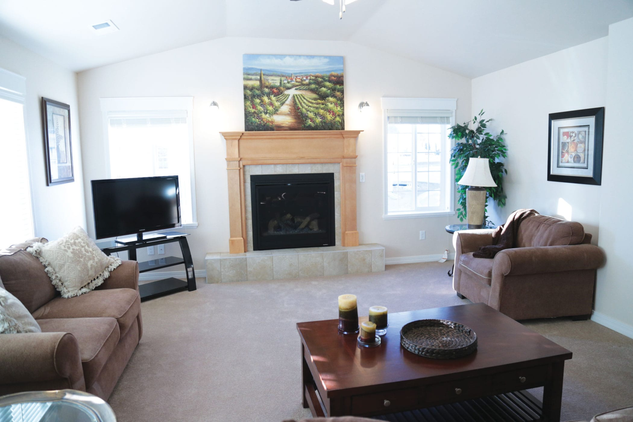 New-Cottage-Living-Room-Small | The Cottages of Hilltop
